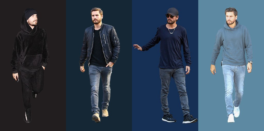 Tonal dressing 101 – introducing, our Scott Disick colour chart: https...