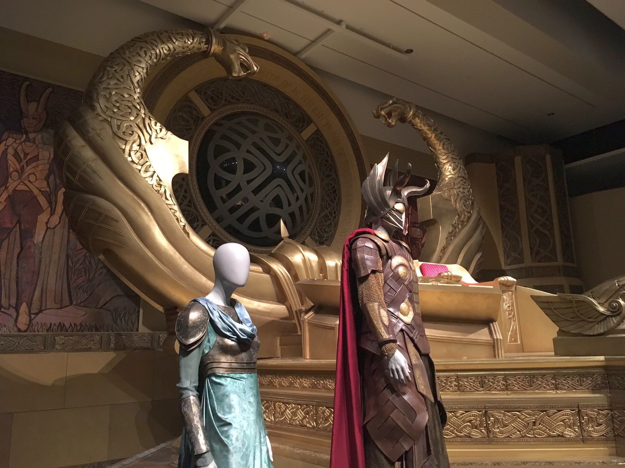 Asgard Throne Room