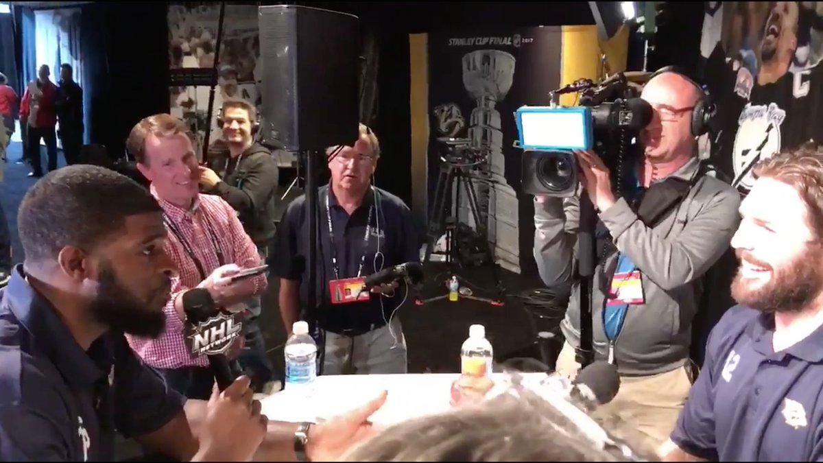 P.K. Subban plays reporter at media day, continues to be a delight: ht...