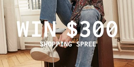 CONTEST: Win a $300 The Kooples gift card https://t.co/JANZLyN1nd http...