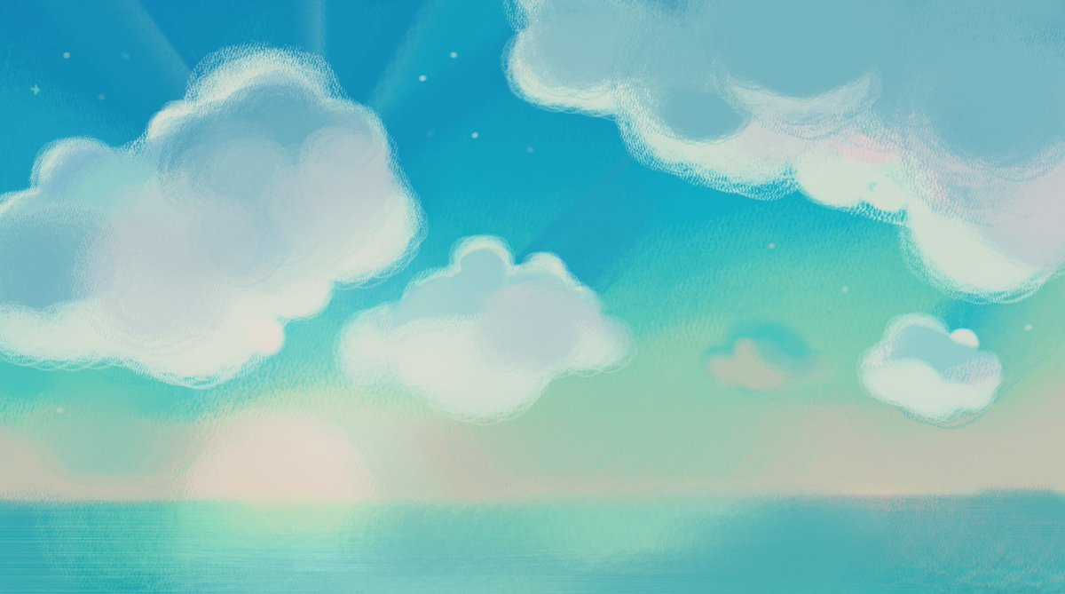 Облака анимашки картинки