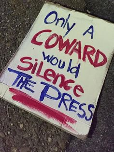Trump used to LOVE the attention from the Press. Now he hides, ignores and calls then Enemies of America. Why? Because he&#39;s a COWARD! #Press <br>http://pic.twitter.com/pfwNj4q9u2