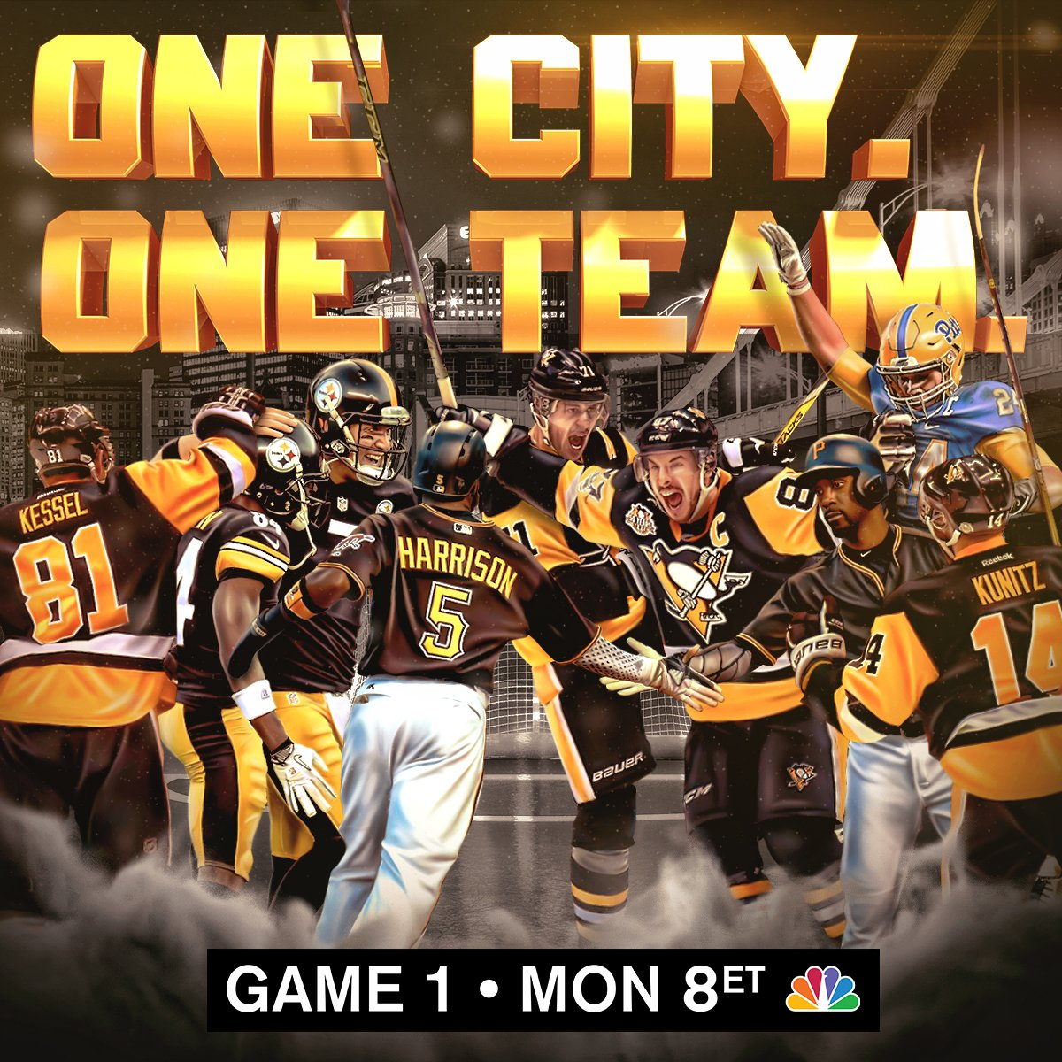 When you play Pittsburgh, you play the whole city.   #StanleyCup