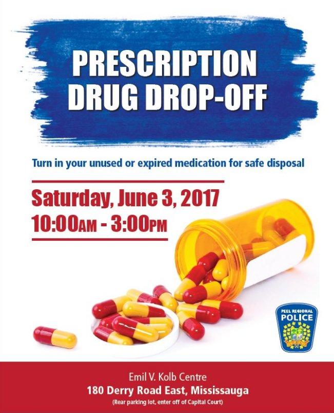 JUNE 3 - Drop off your expired or unused prescription drugs #safedispo...