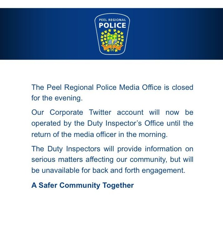 The #PRP media office is now closed & will re-open Monday @ 6a.m....