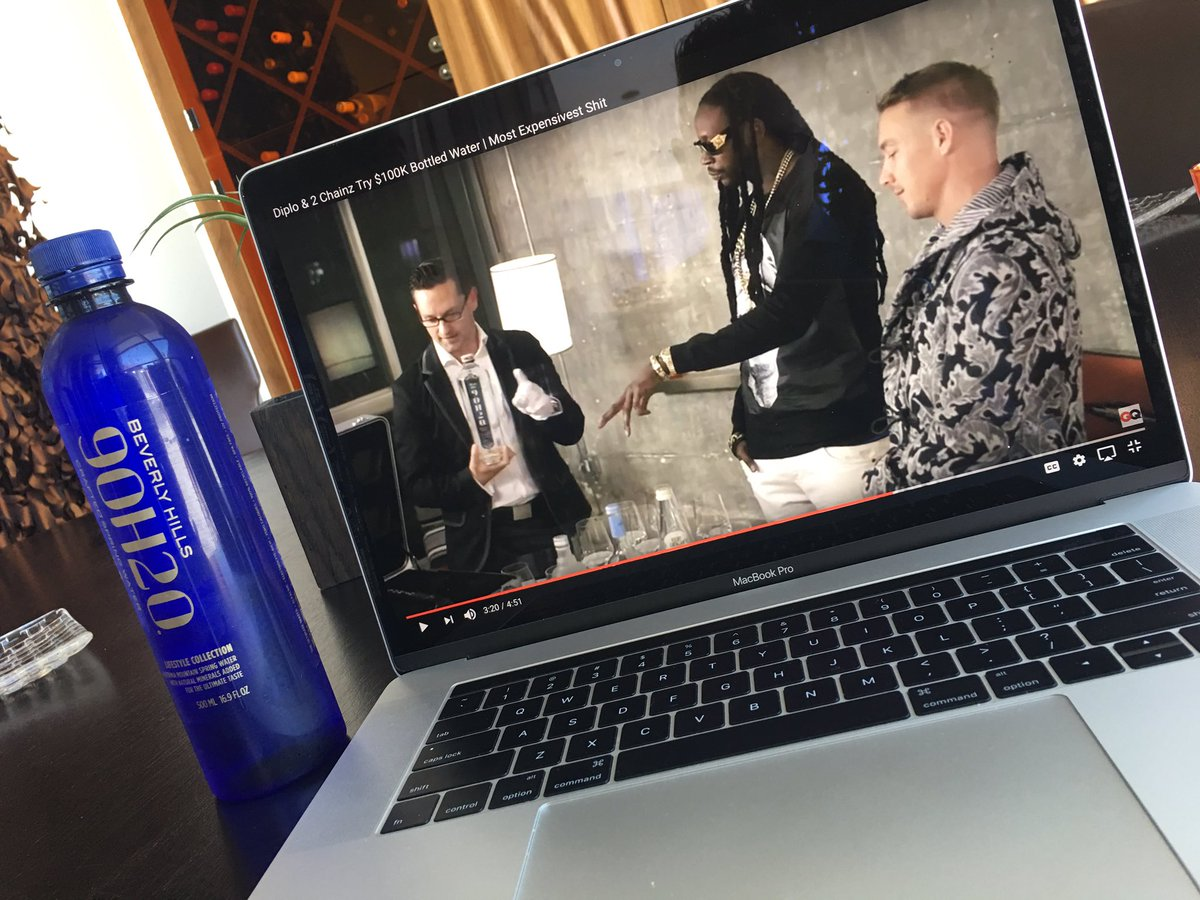 Watching my favorite episode of &quot;Most Expensivest Shit&quot; with Diplo, 2 Chainz and the #watersommelier <br>http://pic.twitter.com/12wN1zQbpT
