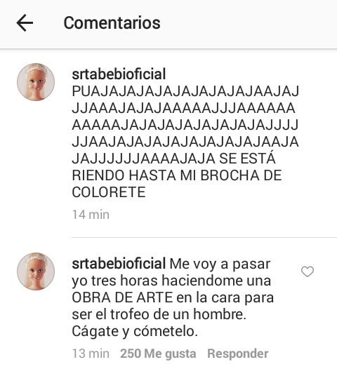RT @claucm_: @srtabebi q grande eres💜 https://t.co/6Y19YZ4xb0
