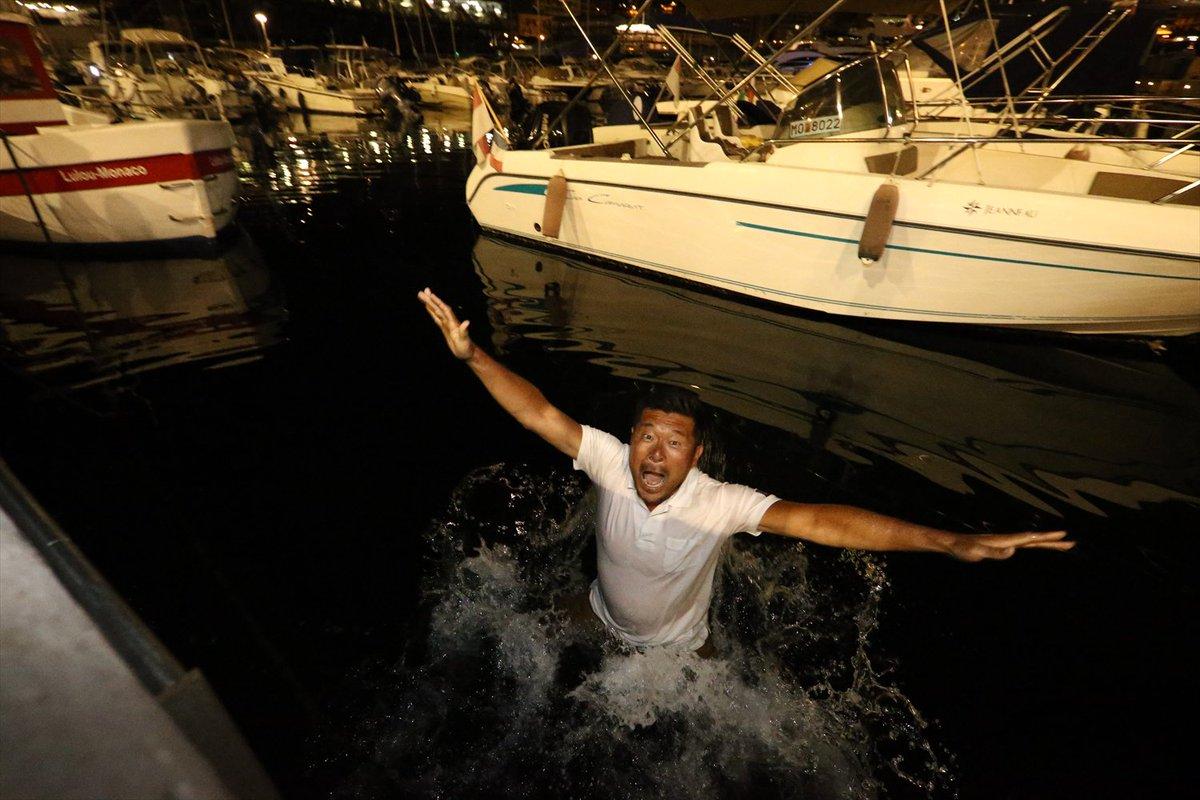 たっくん、おめでとう! モナコの海に喜んで!!! まっちゃん、どうだ! #琢磨がインディ500で勝った #TakumaSato https://t.co/vuv4TeNzr3