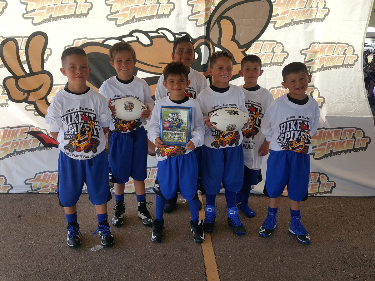 One Nation takes 2nd place! Hard work pays off men! #FE #hikeitspikeit #flagfootball #football Good job Dallas and all of these boys. <br>http://pic.twitter.com/jAXWrOi7Bx