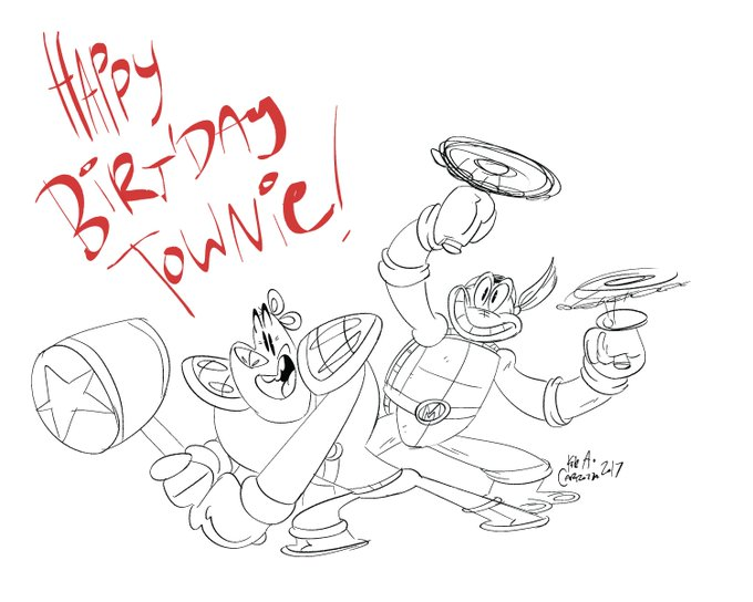 Happy Birthday, Townsend Coleman!! It\s a pleasure to have you as a hammer-wielding bear and a friend.