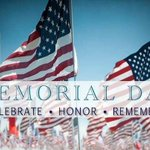 We are proud to be celebrating this our very first Memorial weekend in the USA. Have a restful weekend