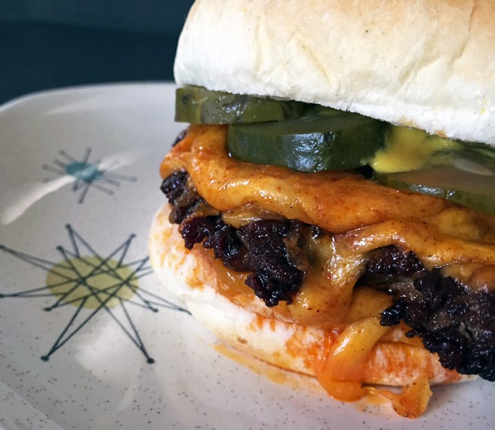 If I found out the world was about to end, I'd make this cheeseburger:...