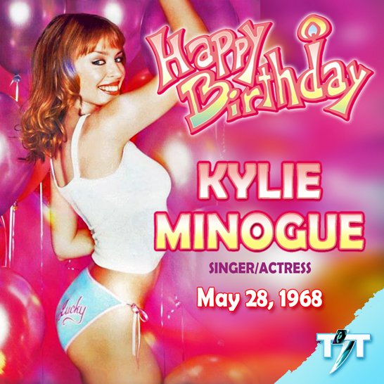 7ea434055dcb6 Kylie Minogue's Birthday Celebration | HappyBday.to