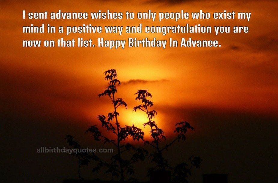 All Birthday Quotes On Twitter Advance Happy Birthday Wishes