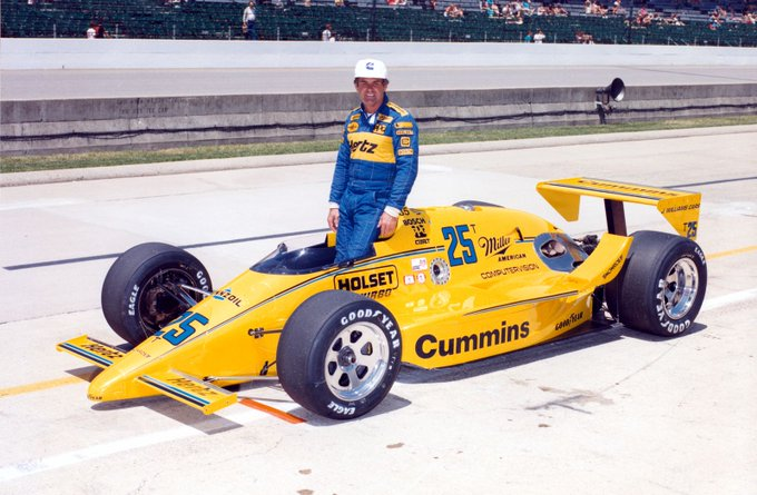 Happy 78th Birthday to 4 time Indianapolis 500 winner Al Unser