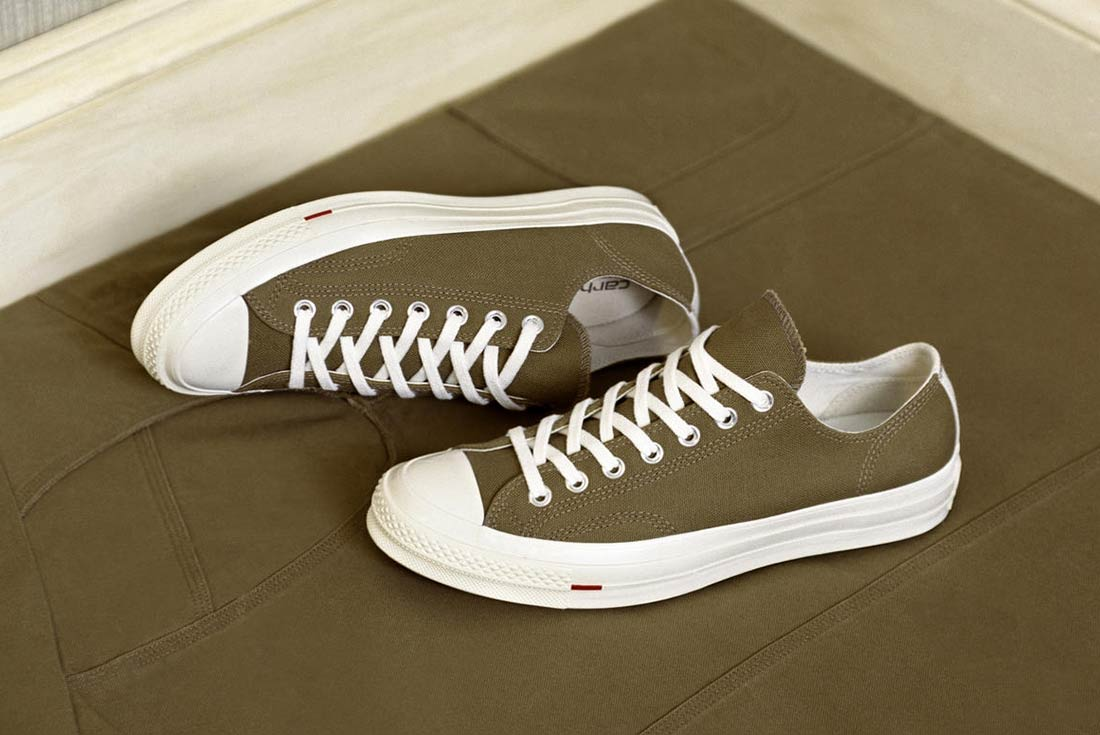 ff5e7be4aa1edc carhartt wip and converse apply their shared love of classic styling to two  new chucks