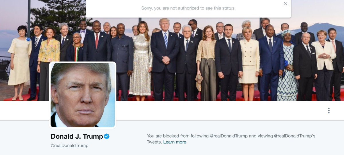 POTUS Blocks Media Writer on Twitter Over Covfefe Tweets