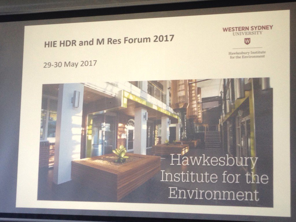 Kicking off the @westsyduhie HIE #HDR #PHD forum with two days of fun <br>http://pic.twitter.com/FyVm9dC6N7