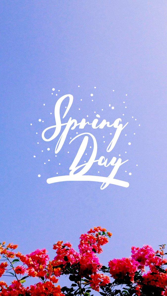 7000 Wallpaper Bts Spring Day  Paling Keren