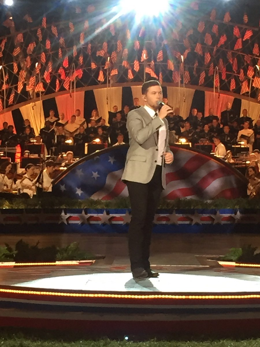 Rocking performance by @ScottyMcCreery at #MemDayPBS Thank you! https://t.co/wroDjzVHIA