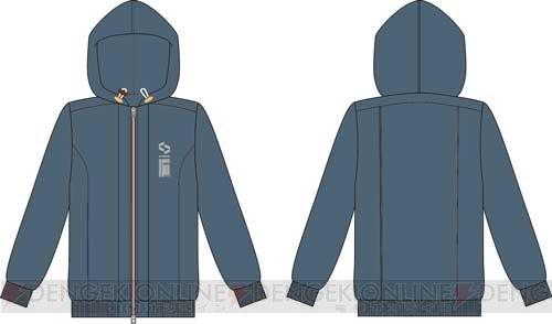 『囚われのパルマ』2人が着ているシーハイブ支給のパーカー&アオイのピアスが商品化   #パルマ