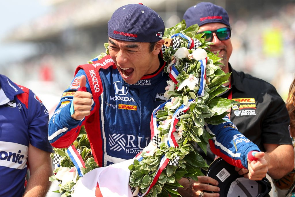Takuma Sato became the first Japanese winner of the Indianapolis 500 h...