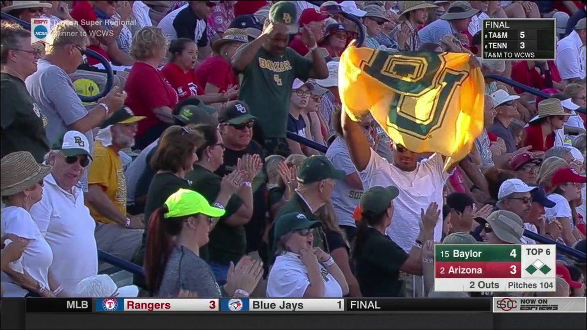 We see you reppin BU out in Tucson, Ish. Let's close this out and get...