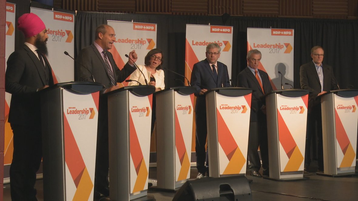 'Race is kicking into high gear': NDP leadership candidates wrap 3rd d...