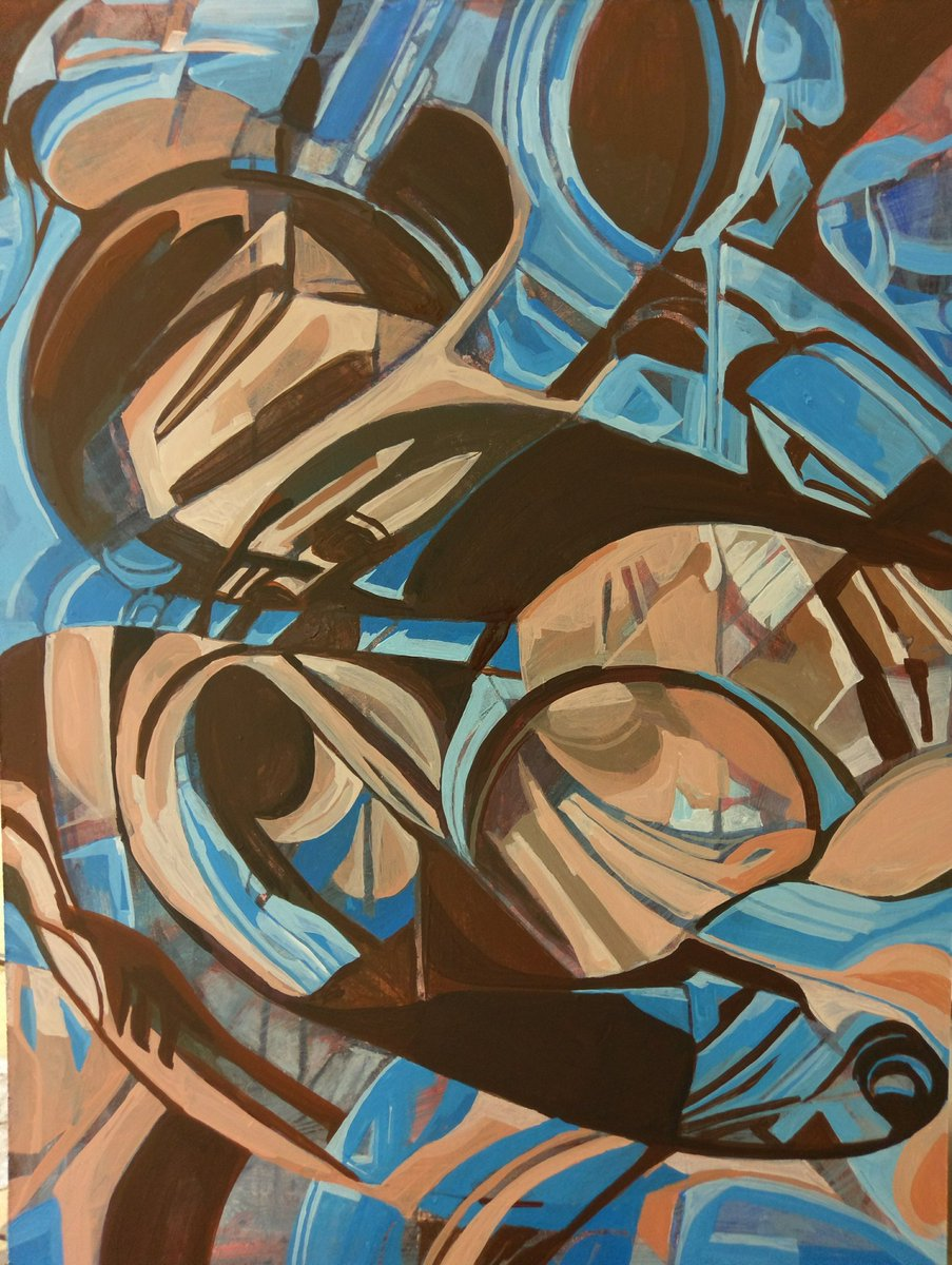 Done! Acrylic on board #abstractart #abstractpainting #interiordesign #design #Galleries #architect #modernart<br>http://pic.twitter.com/kIyWq5apgQ
