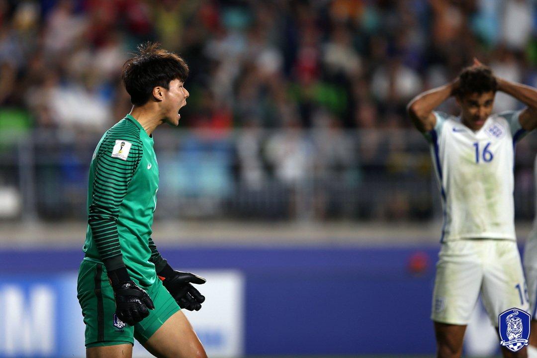[#생생포토] 이제 16강이다!  🇰🇷 대한민국 0-1 잉글랜드   2017.05.26(금) 🏟수원월드컵경기장  #U20_월드컵_코리아_2017 #U20WC #열정을깨워라 #신나라KOREA #U20대표팀