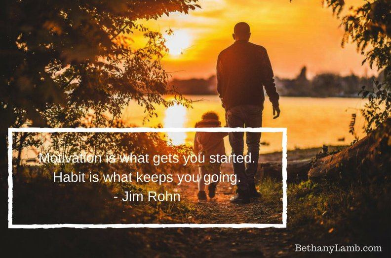 #Motivation is what gets you started. #Habit is what keeps you going. #JimRohn<br>http://pic.twitter.com/SRScxGaVds