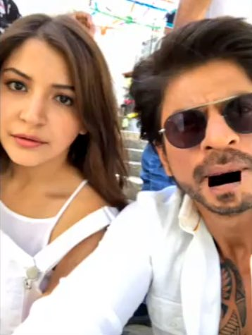 Only 74 days left for  Shah Rukh Khan @iamsrk &amp; Anushka Sharma @AnushkaSharma next movie.  #Rt if u guys r can&#39;t wait for this movie. <br>http://pic.twitter.com/riQWZ7ugHk