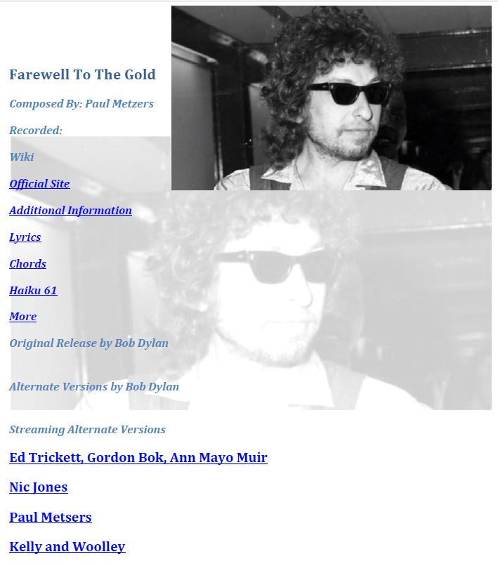 #NowPlaying &quot;Farewell To The Gold&quot; from #BobDylan&#39;s Music Box  http:// thebobdylanproject.com/Song/id/3467/F arewell-To-The-Gold &nbsp; …  Join us and #ListenTo all the great #Folk versions.<br>http://pic.twitter.com/msJD2lNe0j