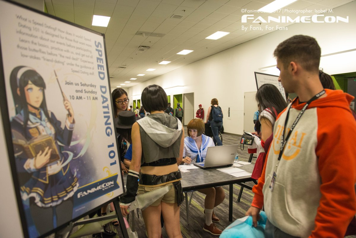 Fanime speed dating