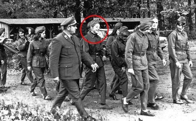Lets talk about Angela Merkel in her East Germany days https://t.co/Dp...