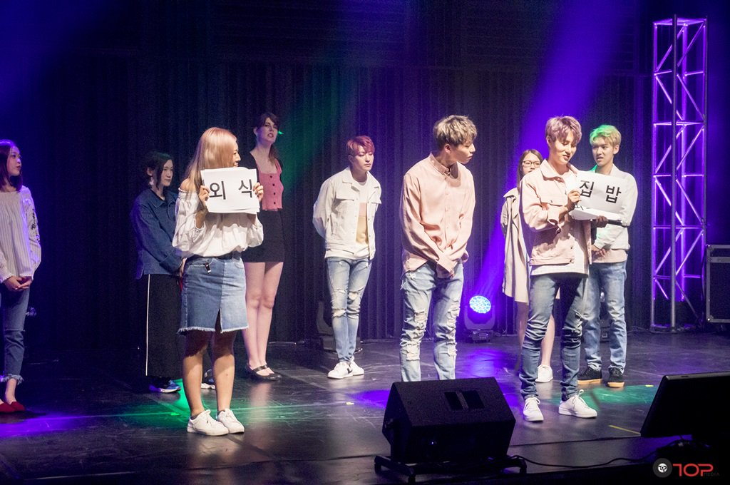 100% meets fans from all over the world with \'MAKESTAR\' funded fanmeet
