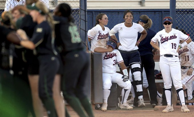Baylor's three-run seventh ends Arizona Wildcats' WCWS dreams https://t.co/yNrwkhjrYB