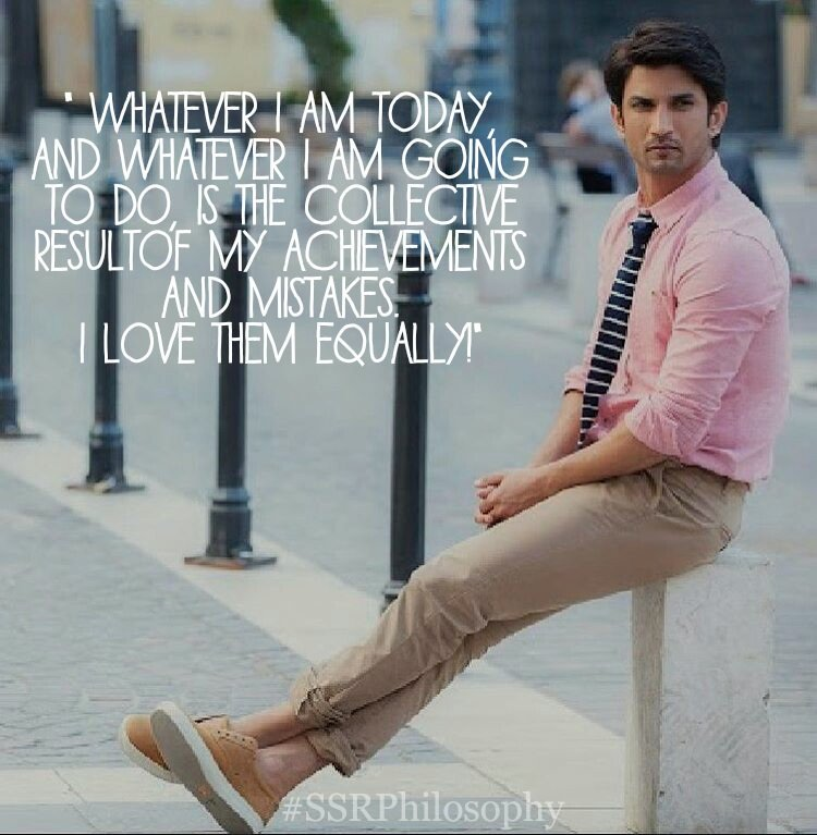 "Sushant Quotes on Twitter: ""Sushant Singh Rajput Quote of the Day ..."