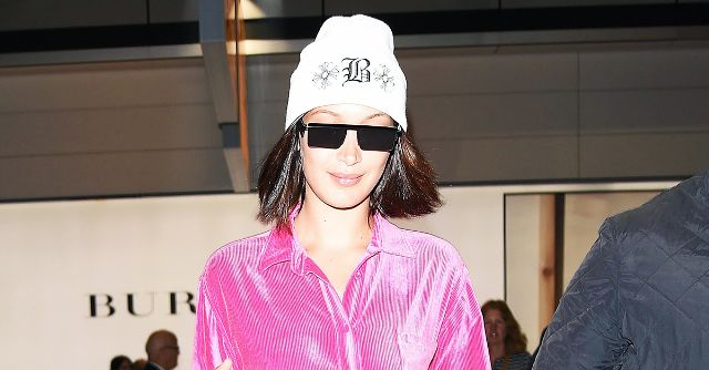 Bella Hadid Just Wore 2017's Version of the Juicy Couture Tracksuit