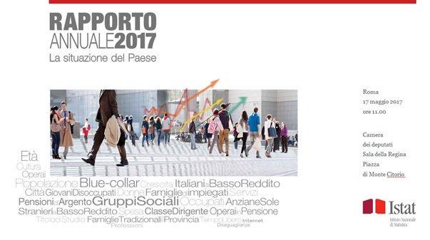 Thumbnail for Presentazione del Rapporto annuale 2017 – La situazione del Paese