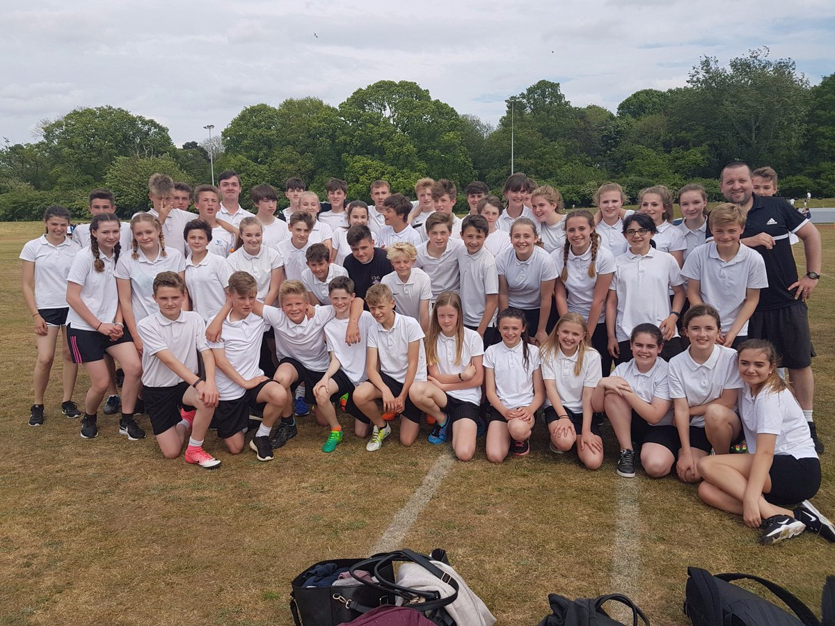 Well done to all pupils that represented us at the South Norfolk Athletics comp at UEA. @SouthNorfolkSSP #LSHSEnrichment