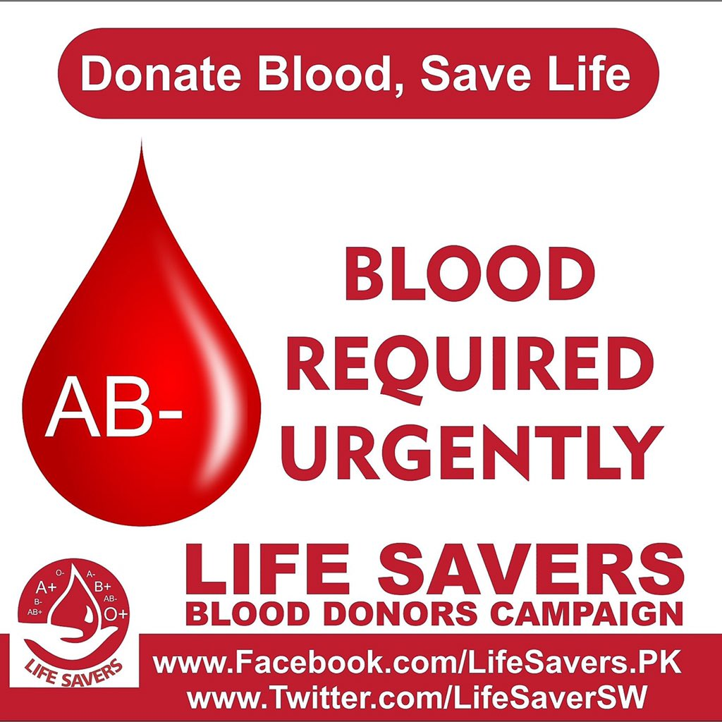 Life Savers On Twitter 17 05 2017 A Patient Urgently Need AB