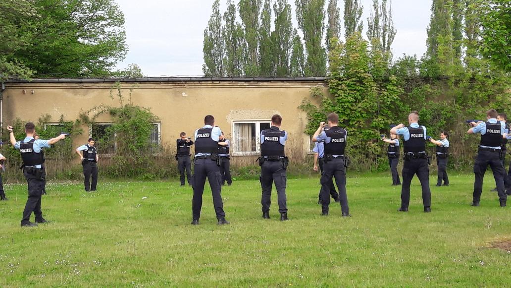 Fh Polizei Lsa On Twitter Das Schöne Wetter Lässt Auch Trainings