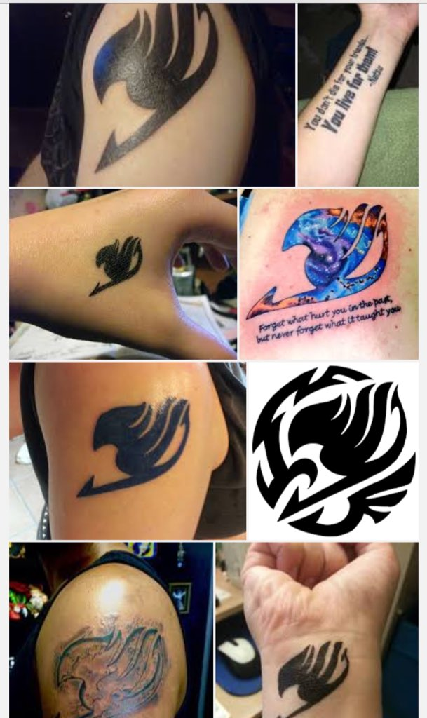 Gmart On Twitter You Mean My Fairy Tail Guild Tattoo Isn T