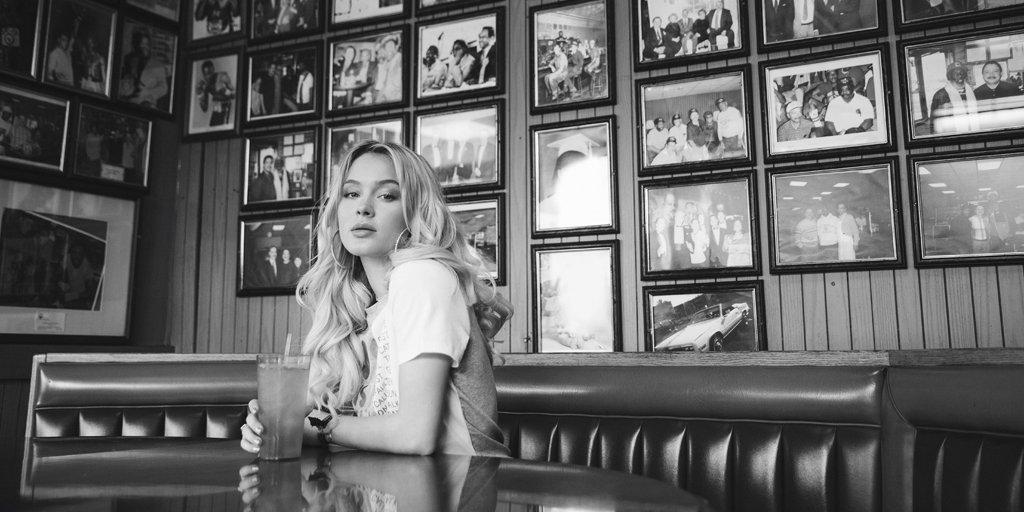 We joined @zaralarsson on tour — read the interview on   #HMMagazine #ZaraLarsson #HM