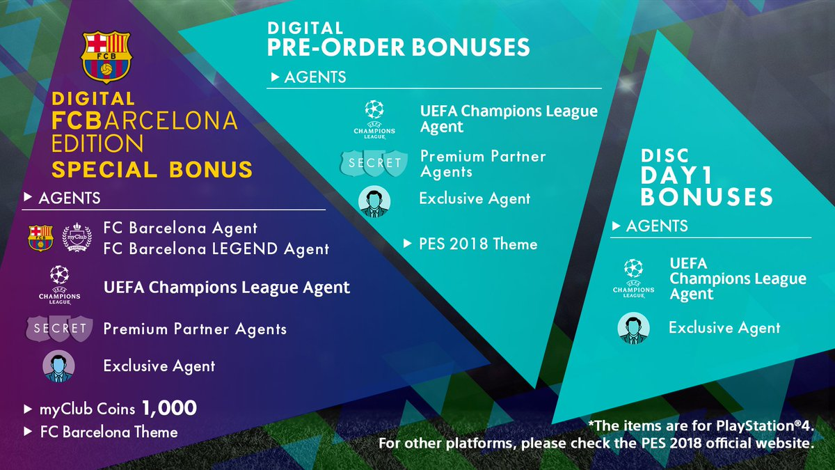 Pro Evolution Soccer On Twitter You Can Pre Order Pes2018 Right Sony Ps4 Pes 2018 Premium Edition Now The Playstation Store Lots Of Rewards And Bonuses Offer Https Storeplaystationcom