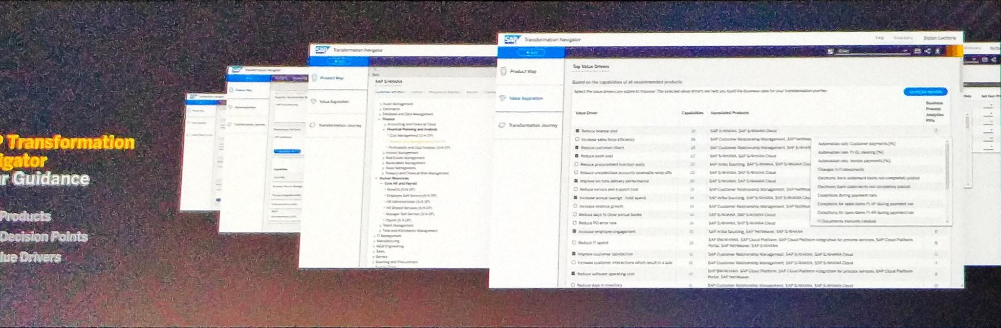Plattner -  Navigator will help enterprises guidance to #S4HANA #SAPPHIRENOW https://t.co/mpdAj7r7v6