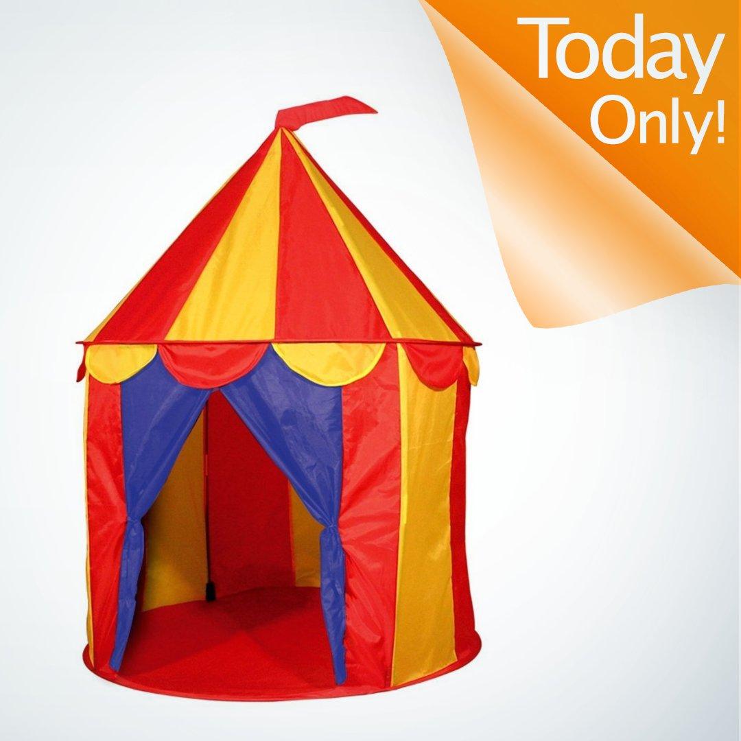 1 X Red Floor Circus Tent Indoor Children Play House Outdoor Kids Castle by POCO DIVOu2026 //.amazon.com/gp/goldbox? & Amazon.com on Twitter: