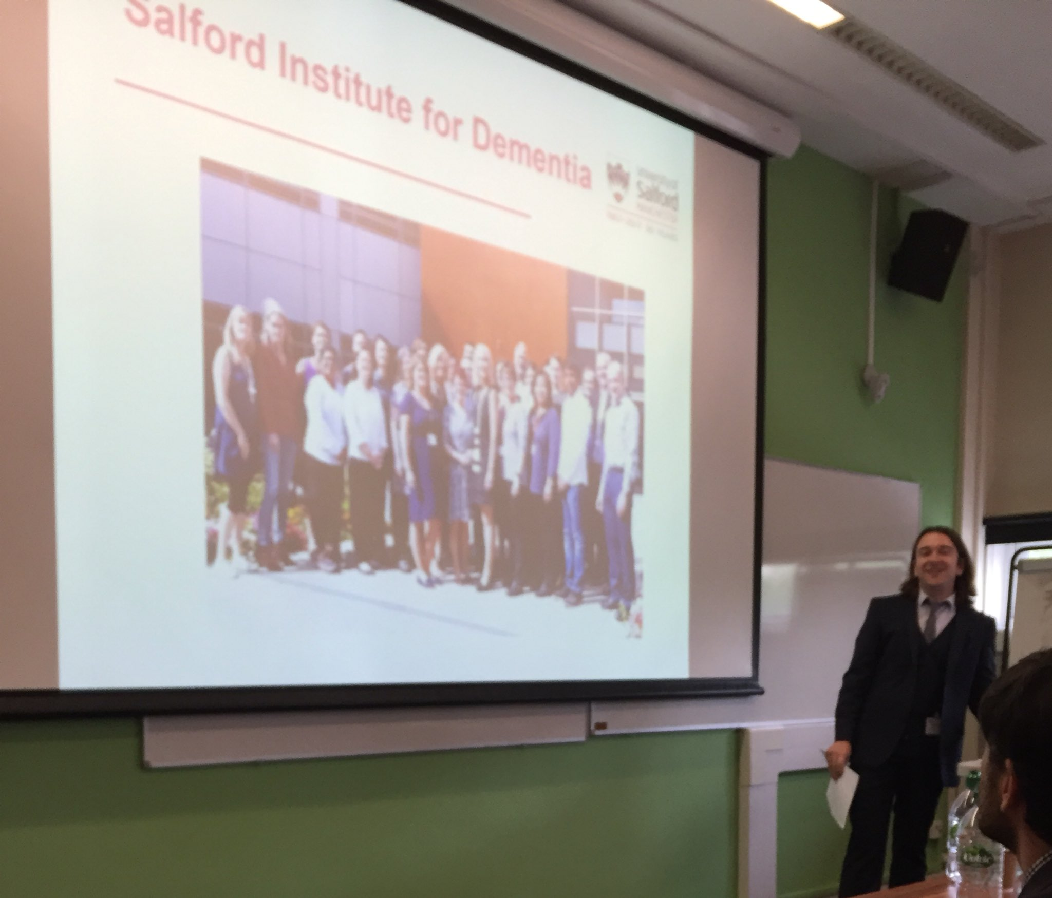Dr Andrew Clark introduces @InstforDementia https://t.co/TjaCqGTQZt