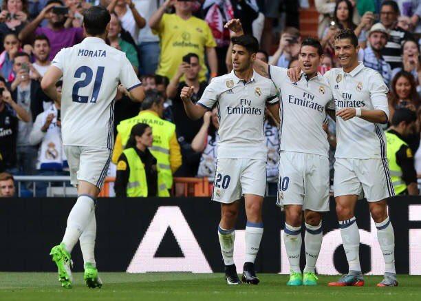 Real Madrid derrotó al Celta y quedó a un punto del título